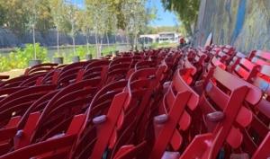Unsichtbarer Tiber – Sessel für das Uferambiente