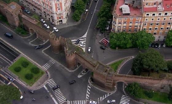 Die Aurelianischen Mauern spielten schon in der Antike eine massgebende Rolle bei der Einteilung der Stadt.