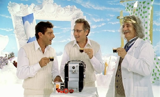 Beim Kaffeetrinken kommen oft himmlische Gefühle auf