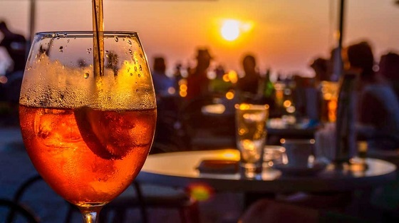 Spritz – zum Sonnenuntergang schmeckt er besonders gut