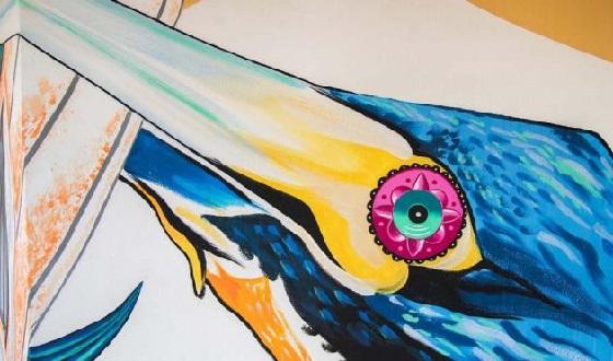 Streetart von Iena Cruz im Detail