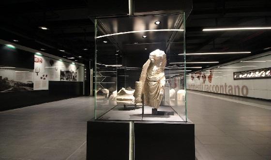 Metrostation S. Giovanni – das Museum im Untergrund