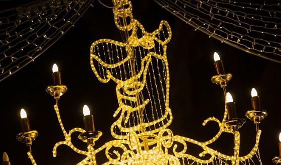 Weihnachtsbeleuchtung in der Via Condotti