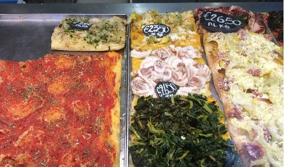 Pizza al Taglio und die Kilopreise