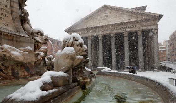 Pantheon – einer der Must sees von Rom von Aussen