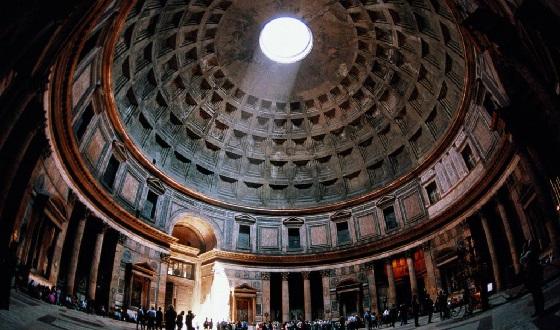 Pantheon – einer der Must sees von Rom von Innen