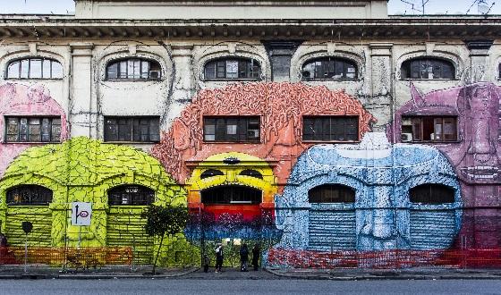 Quartiere Ostiense – Street Art
