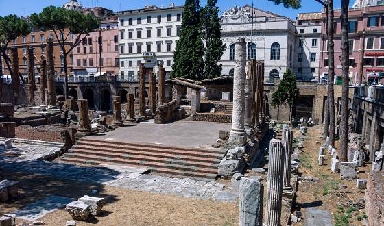 Area Sacra di Largo Argentina – Tempel A