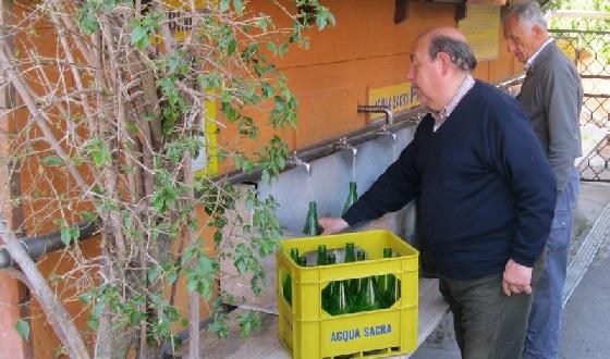 Acqua Roma – kostenloses Abfüllen von Mineralwasser mitten in Rom