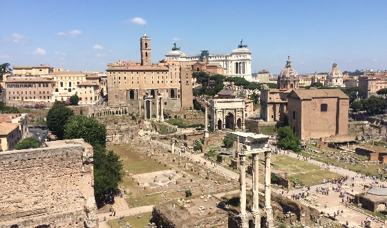 Archäologisches Herz der Foren – Forum Romanum
