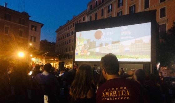 Cinema all'Aperto – Piazza San Cosimato
