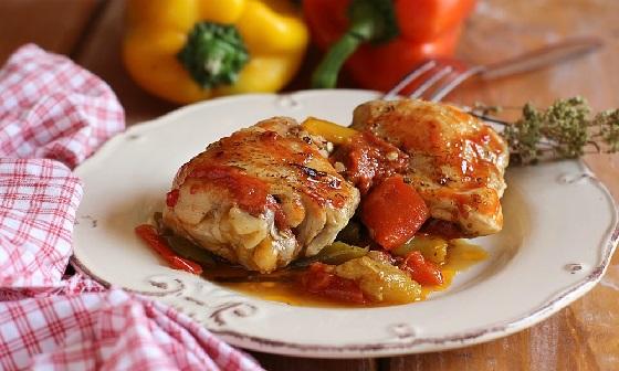 Pollo con i Peperoni alla Romana – Guten Appettit