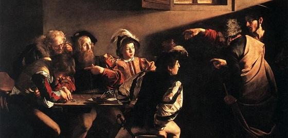 Caravaggio – sein Gemälde mit dem Titel «Die Berufung des heiligen Matthäus»