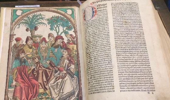 Biblioteca Angelica – eines der unzähligen Werke