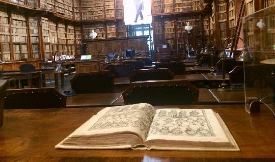 Biblioteca Angelica – der öffentliche Lesesaal