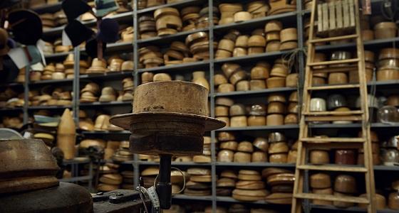 Antica Manifattura Cappelli – Holzformen so weit das Auge reicht